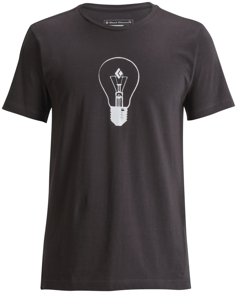 Black Diamond M's S/S BD Idea Tee Slate-30