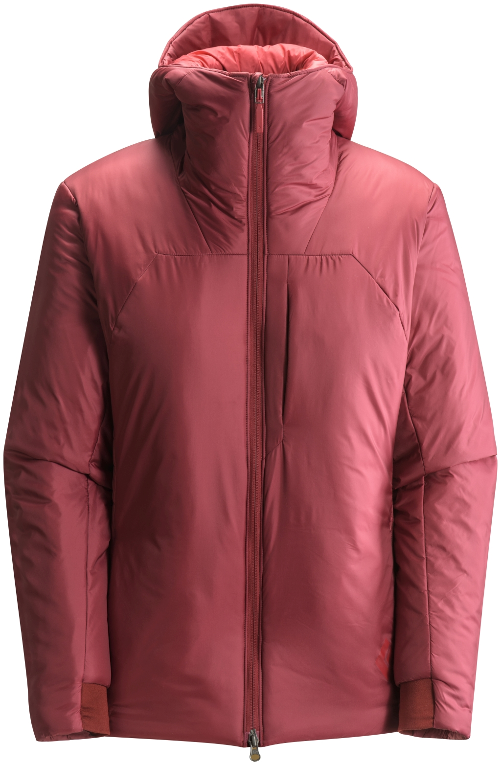 Black Diamond Stance Belay Parka Women's Maroon-30
