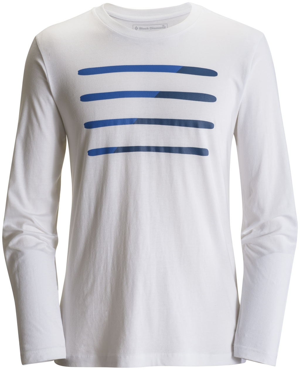 Black Diamond Long-Sleeve Ski Tee White-30