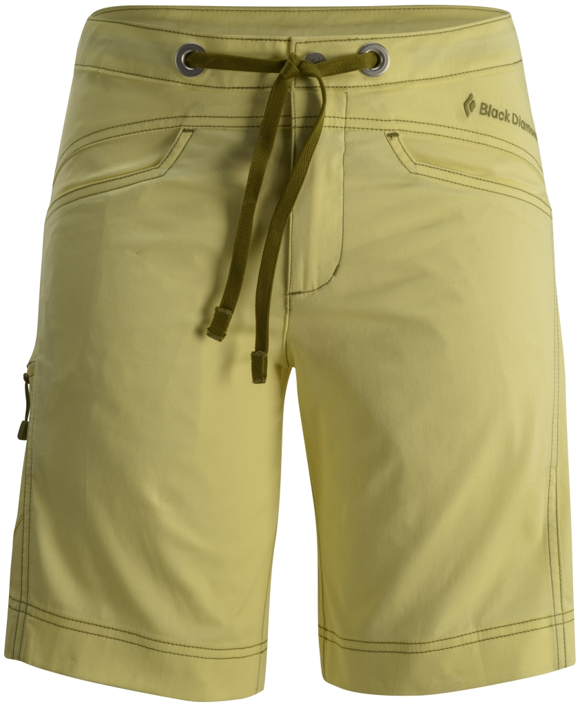 Black Diamond W's Credo Shorts Lemon-30