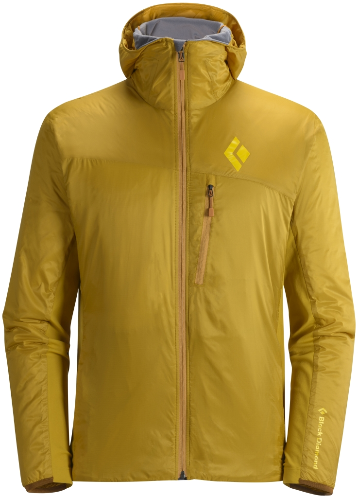 Black Diamond M's Access LT Hybrid Hoody Gold-30