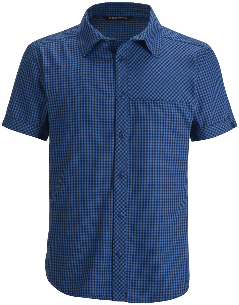 Black Diamond M's S/S Spotter Shirt Powell Captain Mini Gingham-30