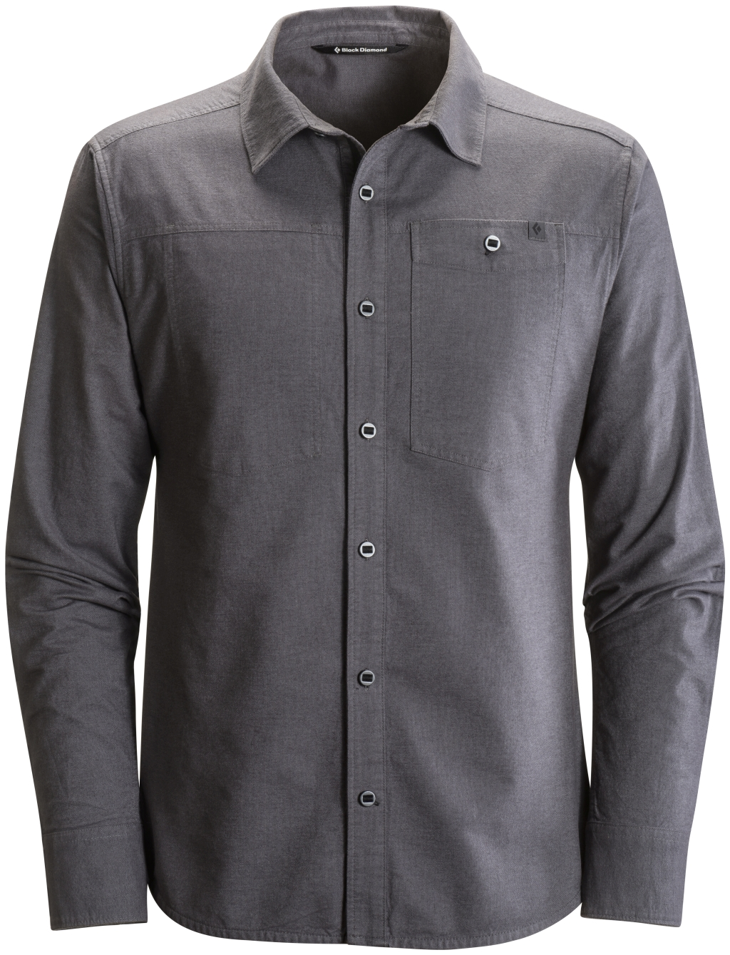 Black Diamond Long-Sleeve Chambray Modernist Shirt Smoke-30
