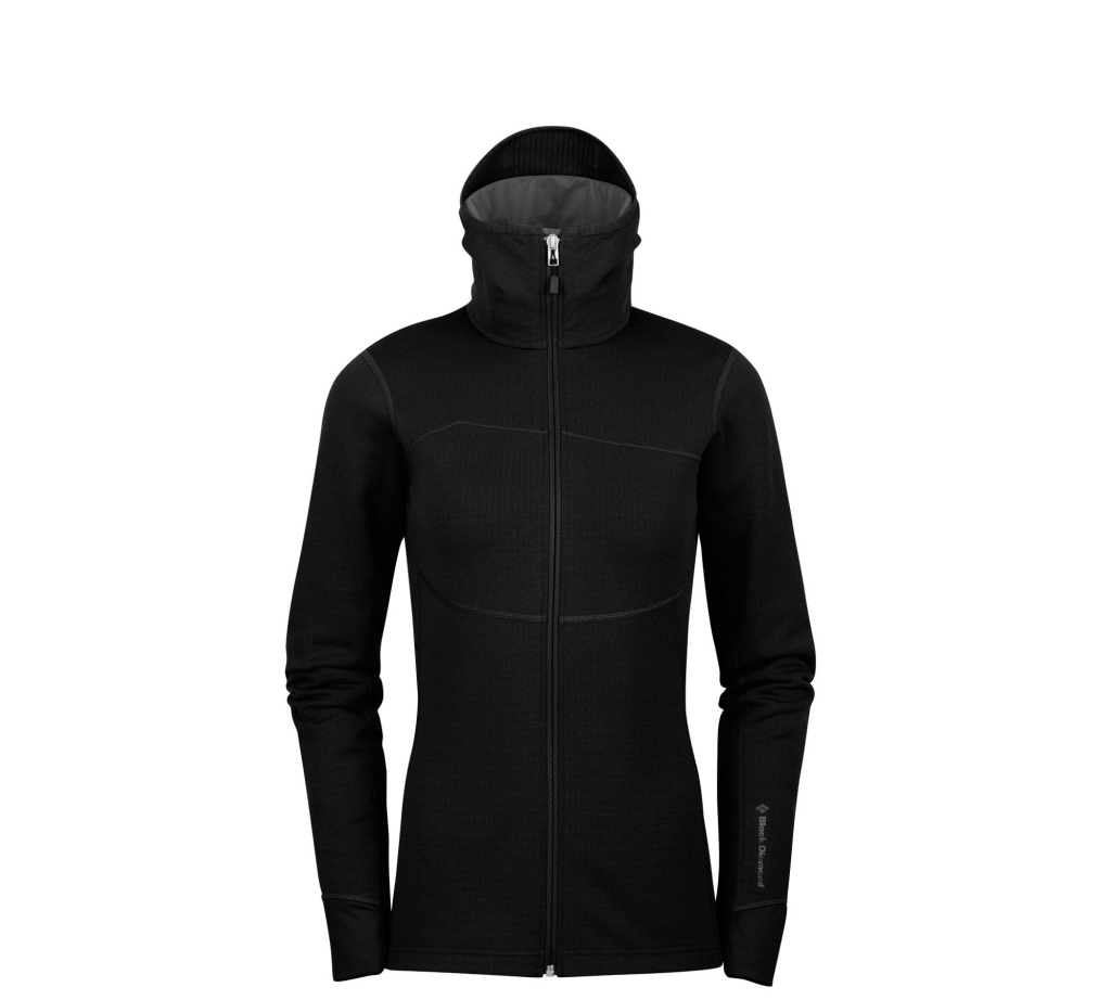 Black Diamond W´s CoEfficient Hoody Black-30