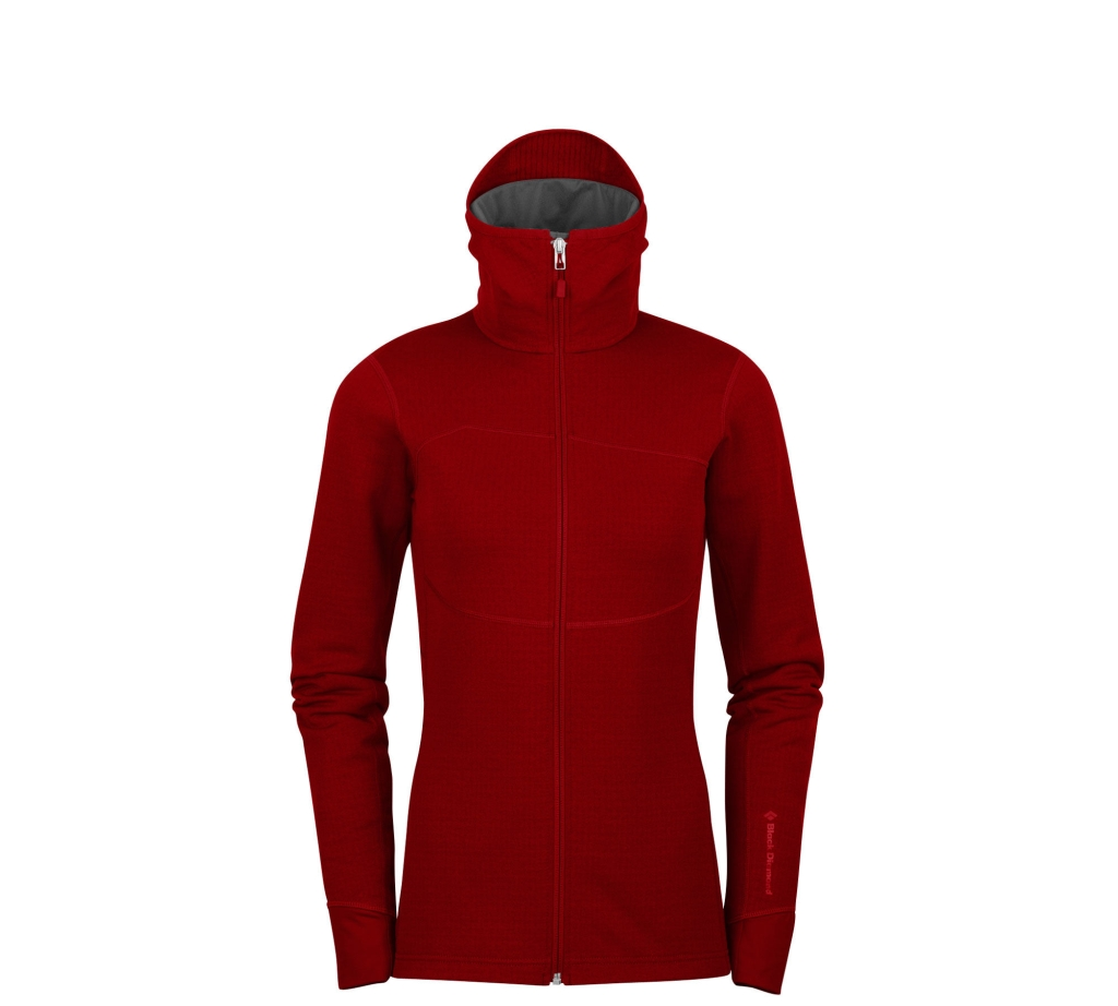 Black Diamond W´s CoEfficient Hoody Deep Torch-30