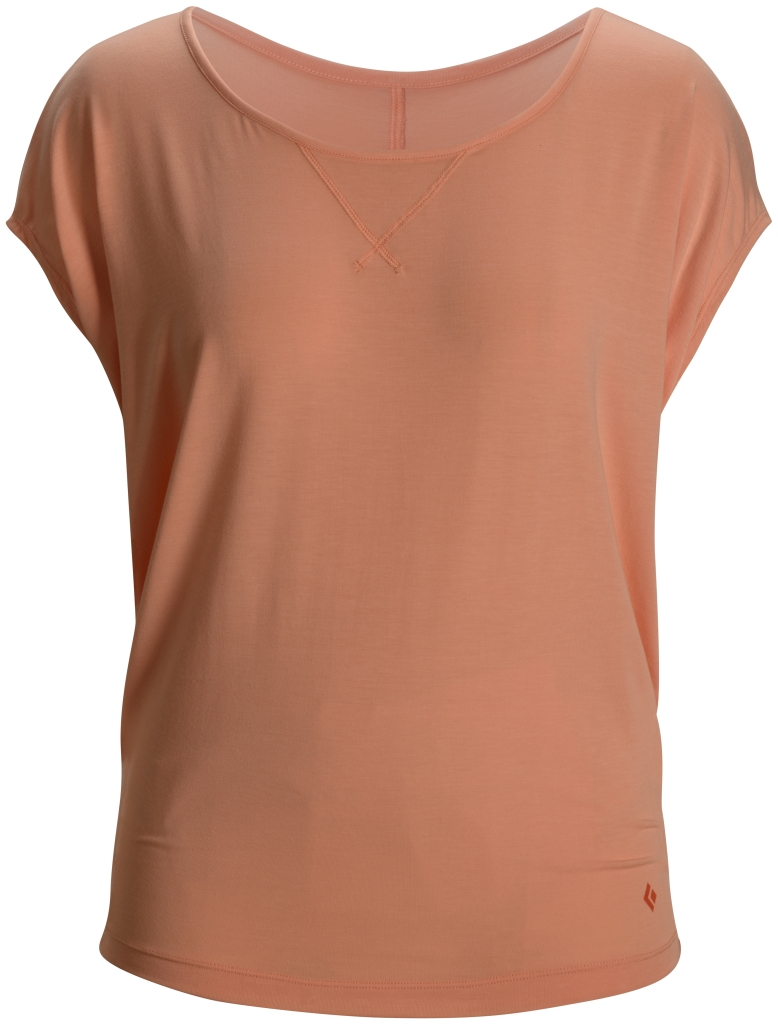 Black Diamond Arete Tee Women's Salmon-30