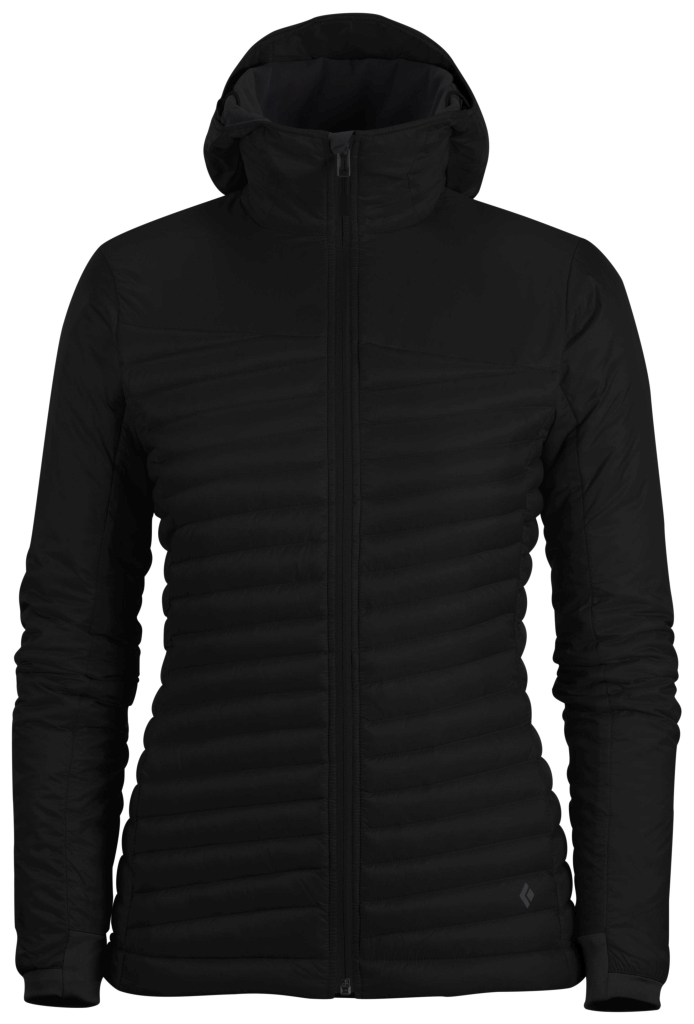 Black Diamond W´s Hot Forge Hybrid Hoody Black-30