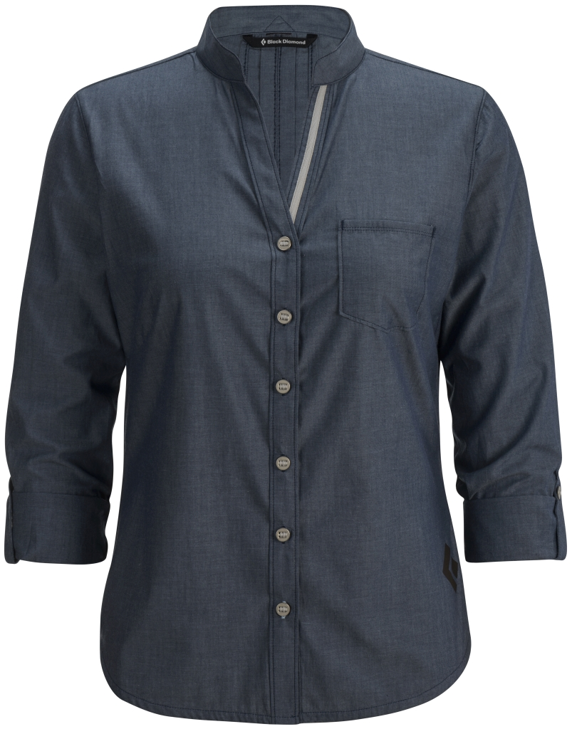 Black Diamond W's Chambray Modernist Shirt Captain-30