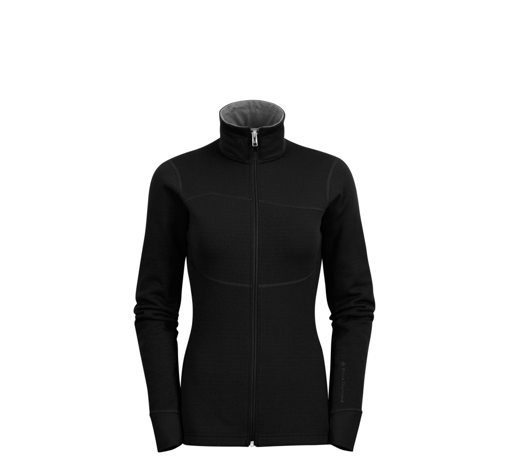 Black Diamond W´s CoEfficient Jacket Black-30