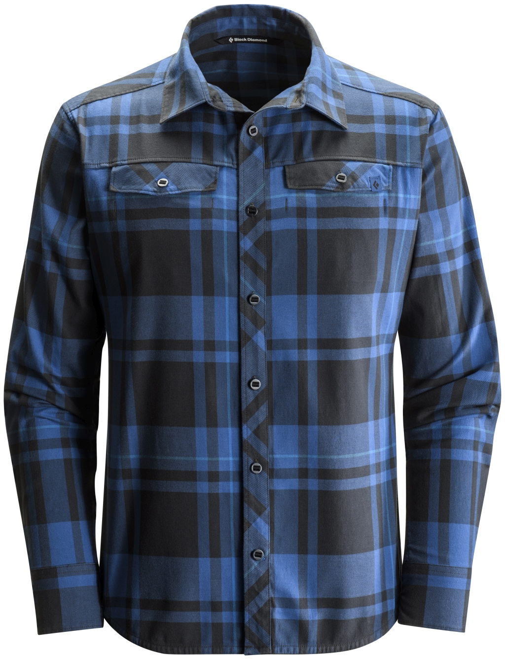 Black Diamond Long-Sleeve Stretch Technician Shirt Denim Black Plaid-30
