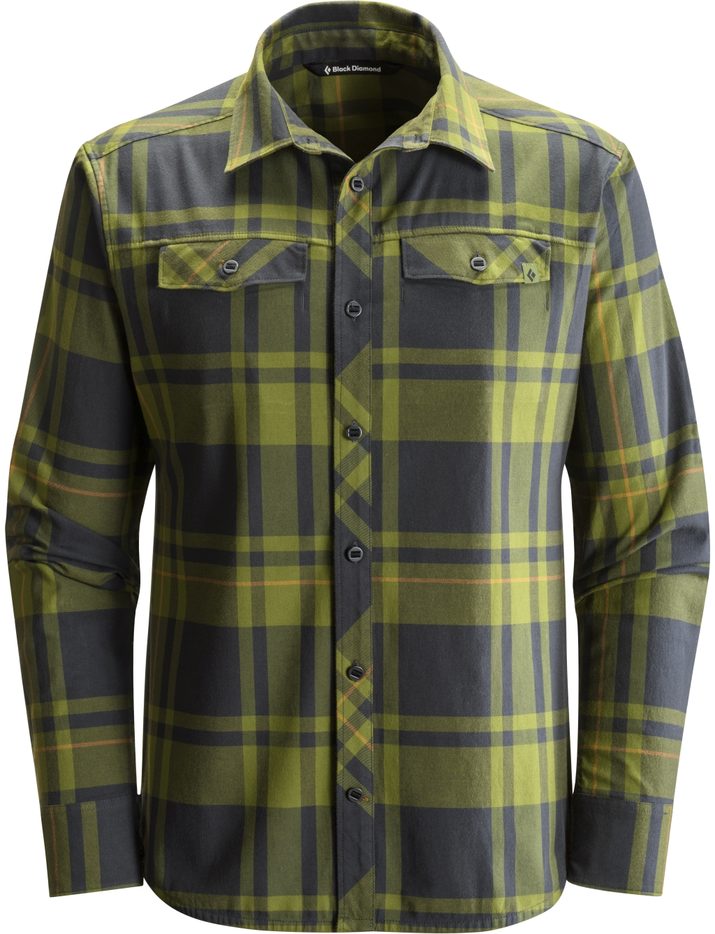 Black Diamond Long-Sleeve Stretch Technician Shirt Cargo Black Plaid-30