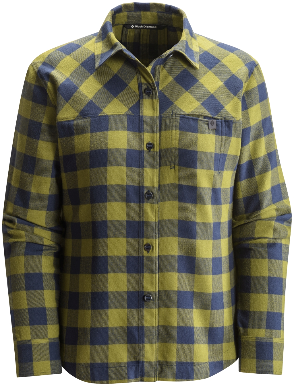 Black Diamond Long-Sleeve Spotter Shirt Women's Sage Captain Gingham-30