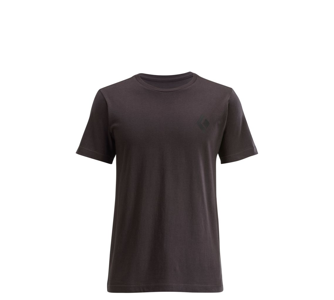 Black Diamond M's S/S Destination Tee Slate-30