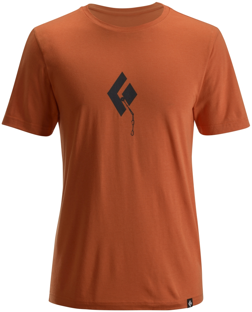 Black Diamond M's S/S Placement Tee Cayenne-30