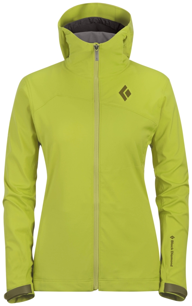 Black Diamond W's Dawn Patrol LT Shell Aloe-30