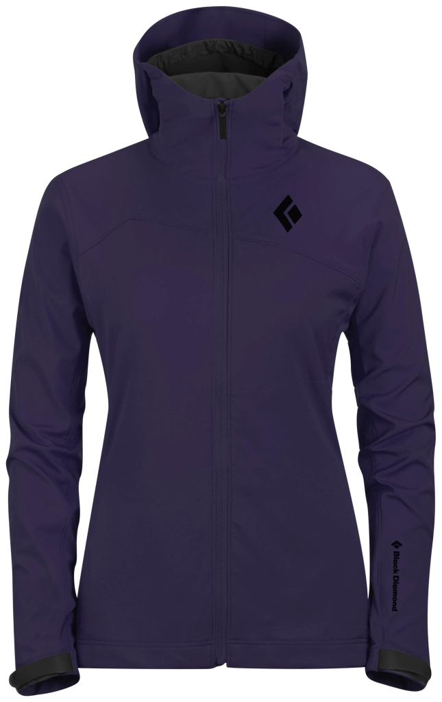 Black Diamond W's Dawn Patrol LT Shell Nightshade-30