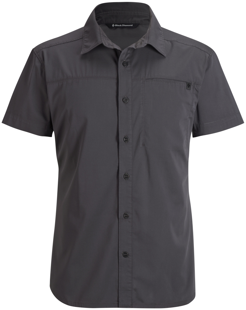 Black Diamond M's S/S Stretch Operator Shirt Slate-30