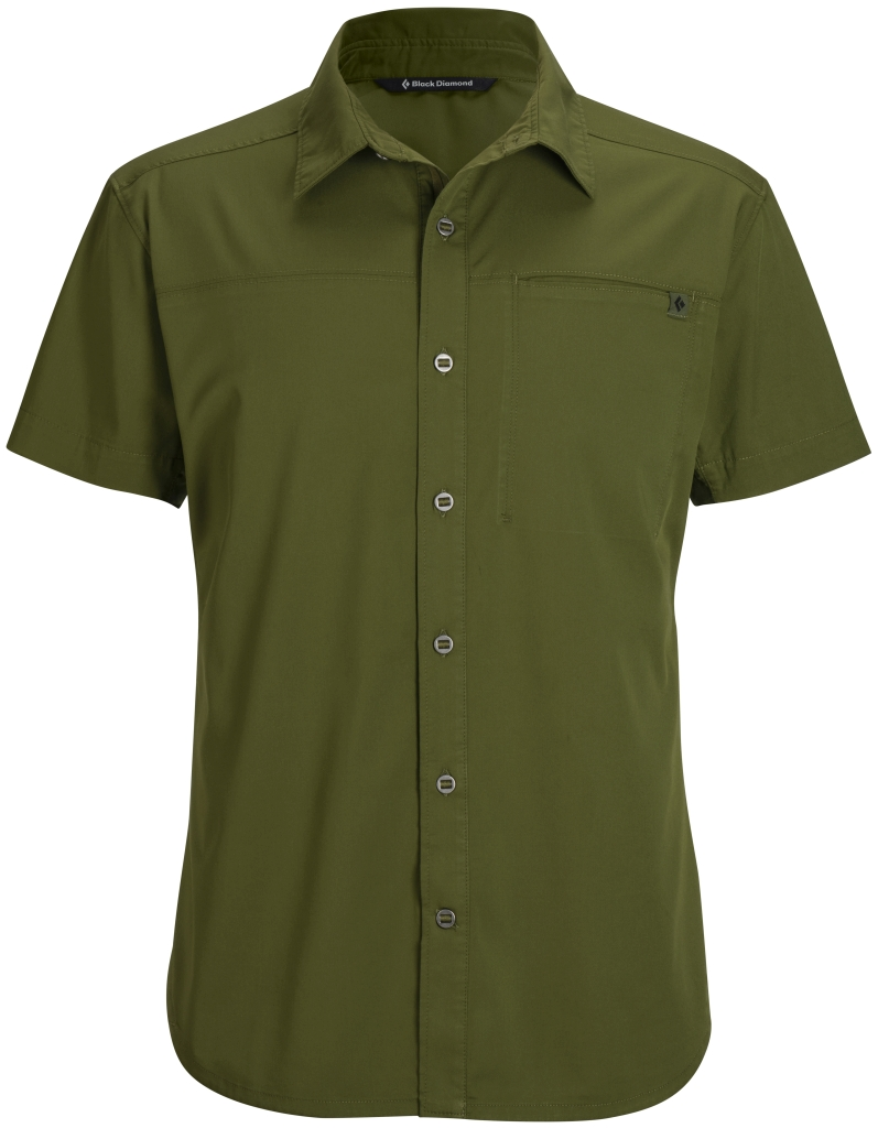 Black Diamond M's S/S Stretch Operator Shirt Cargo-30