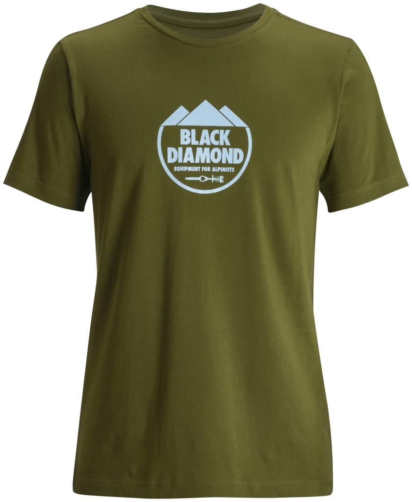 Black Diamond M's S/S Alpinist Crest Tee Cargo-30