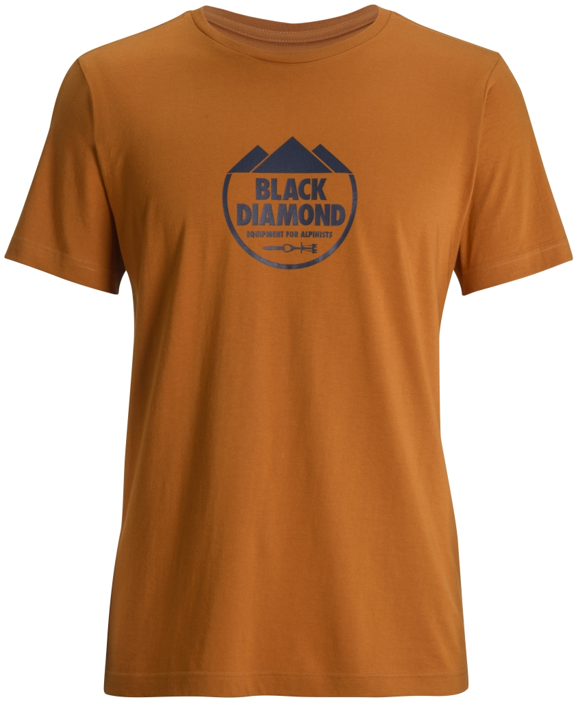 Black Diamond M's S/S Alpinist Crest Tee Copper-30