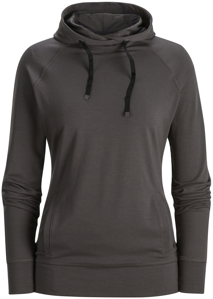 Black Diamond W's Dawn Wall Hoody Slate-30