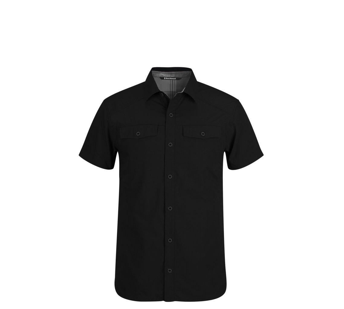 Black Diamond M's S/S Technician Shirt Black-30
