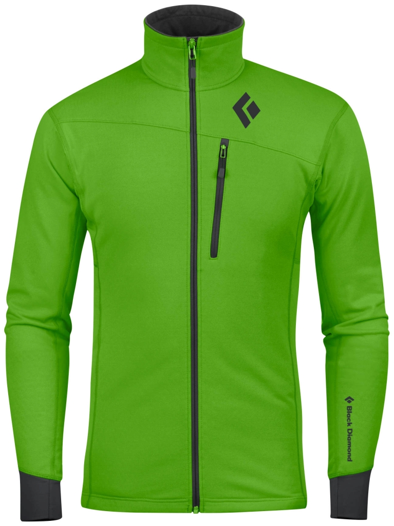 Black Diamond M´s CoEfficient Jacket Vibrant Green-30