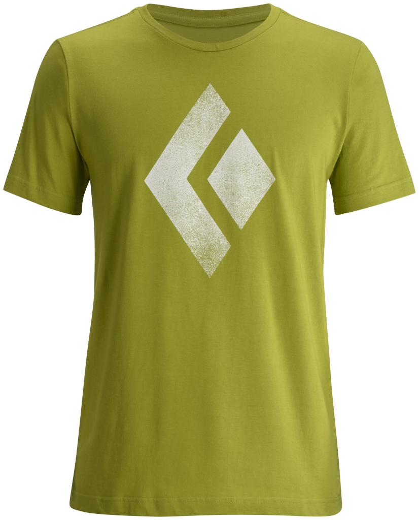 Black Diamond M's S/S Chalked Up Tee Grass-30