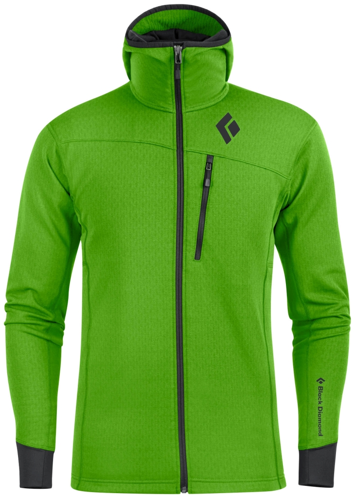 Black Diamond M´s CoEfficient Hoody Vibrant Green-30