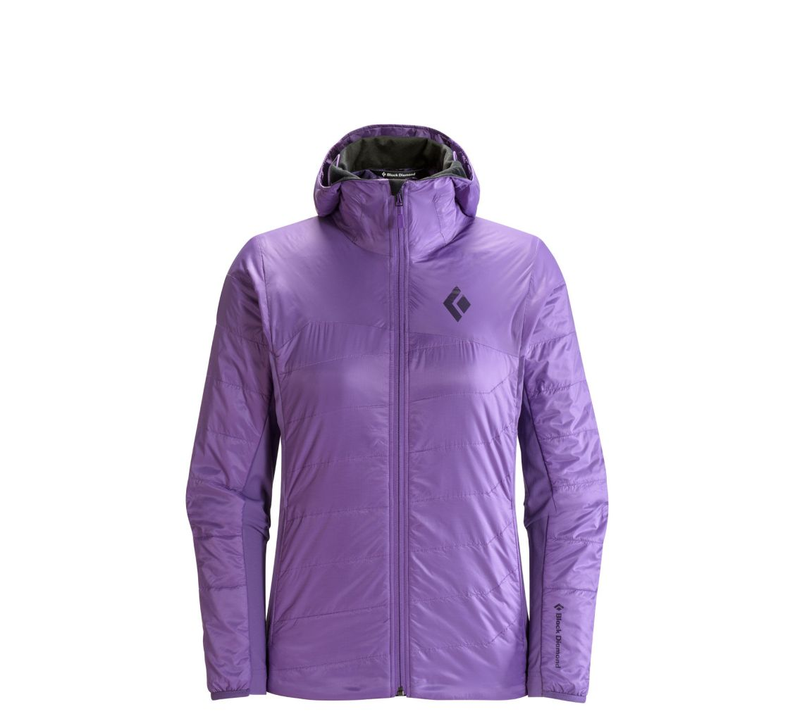 Black Diamond W's Access Lt Hybrid Hoody Dusk-30