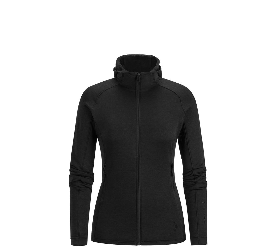 Black Diamond W's Compound Hoody Smoke-30