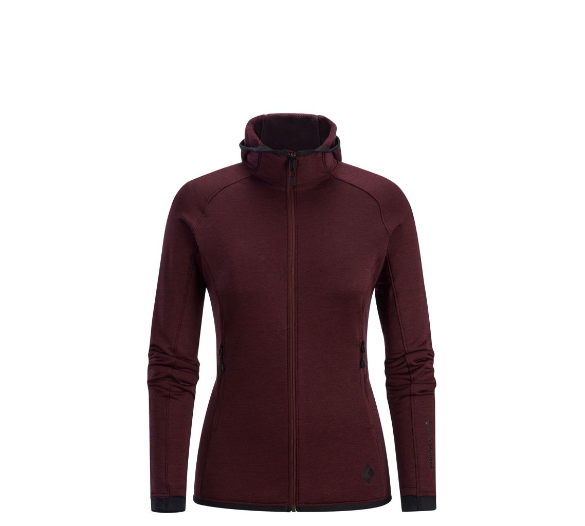 Black Diamond W's Compound Hoody Merlot-30