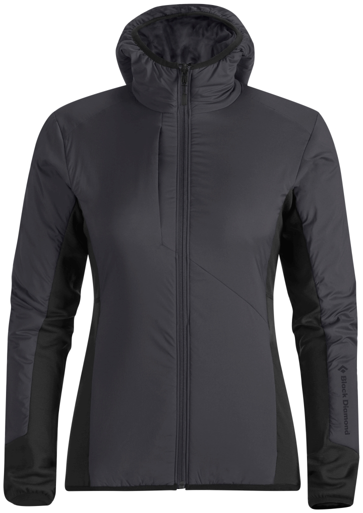 Black Diamond W's Deployment Hybrid Hoody Smoke-30