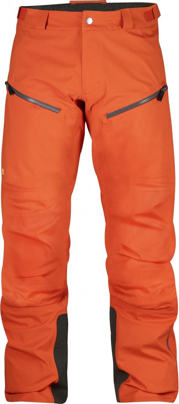 FjallRaven Bergtagen Eco-Shell Trousers Hokkaido Orange-30