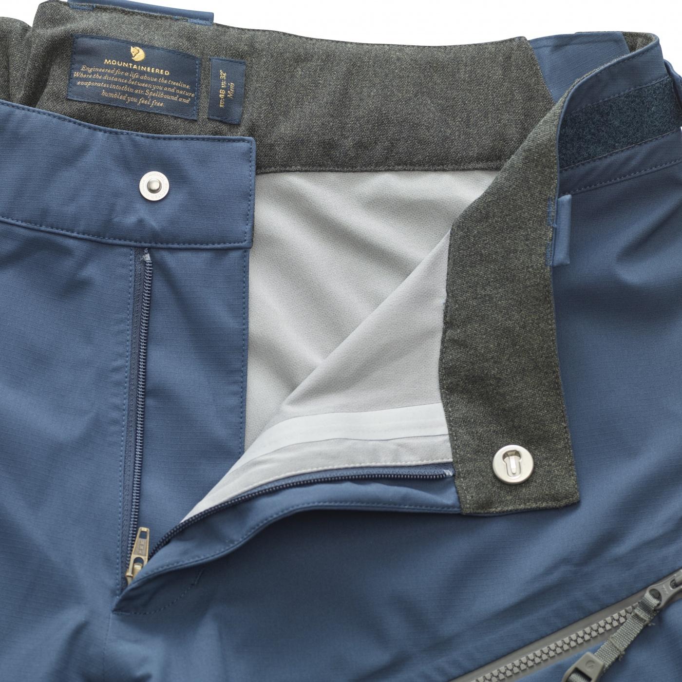 FjallRaven Bergtagen Eco-Shell Trousers W Hokkaido Orange-30