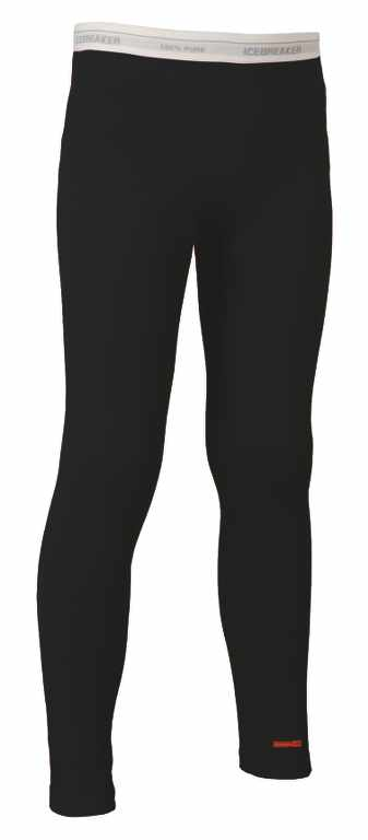 Icebreaker Kids Oasis Leggings Black/White-30