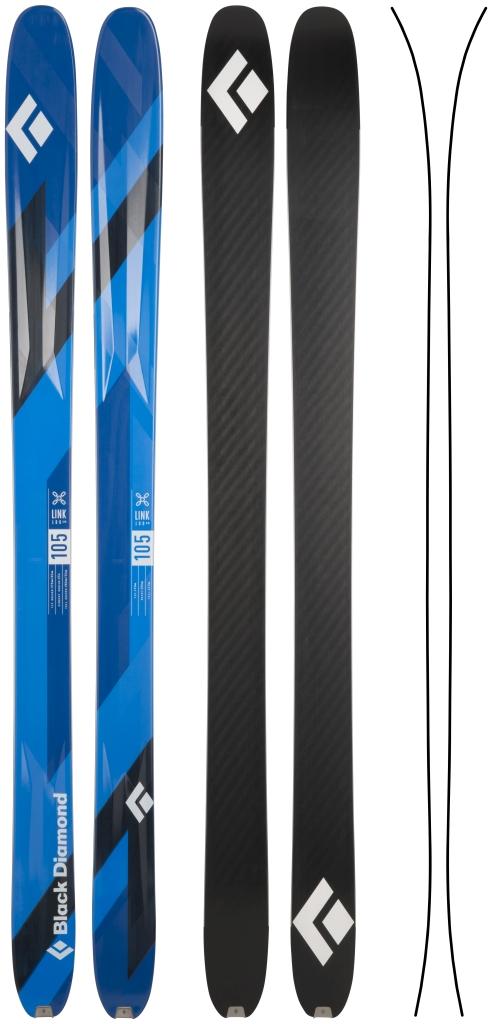 Black Diamond - Link 105  - Skis - 188