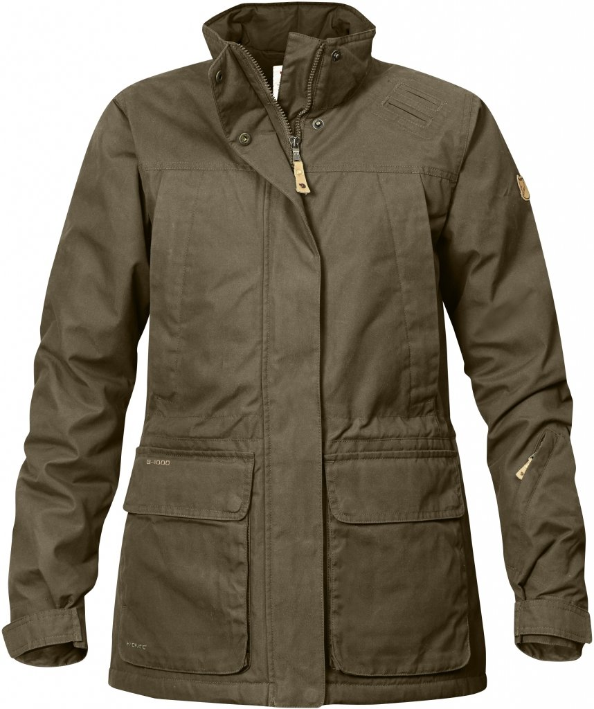 FjallRaven Brenner Pro Padded Jacket W Taupe-30