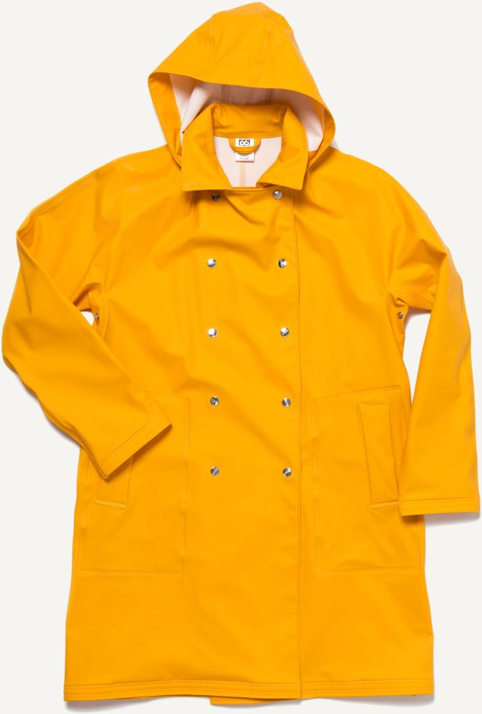 Laugavegur Women´s Raincoat Retro Yellow-30