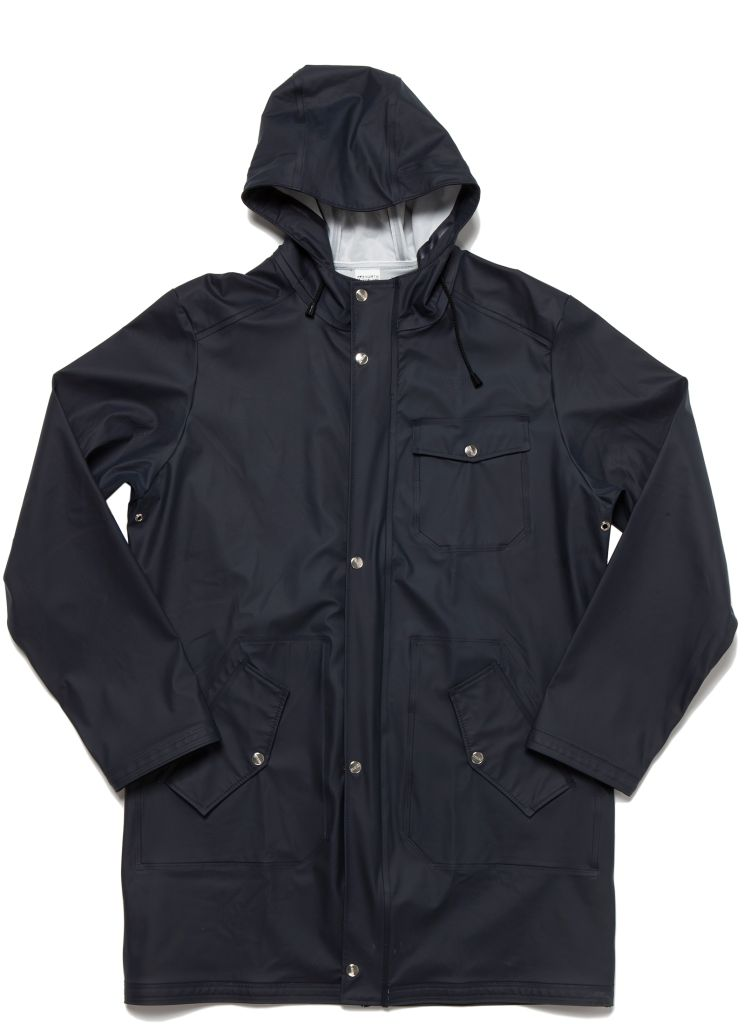 Laugavegur Rain Jacket Mystic Blue-30