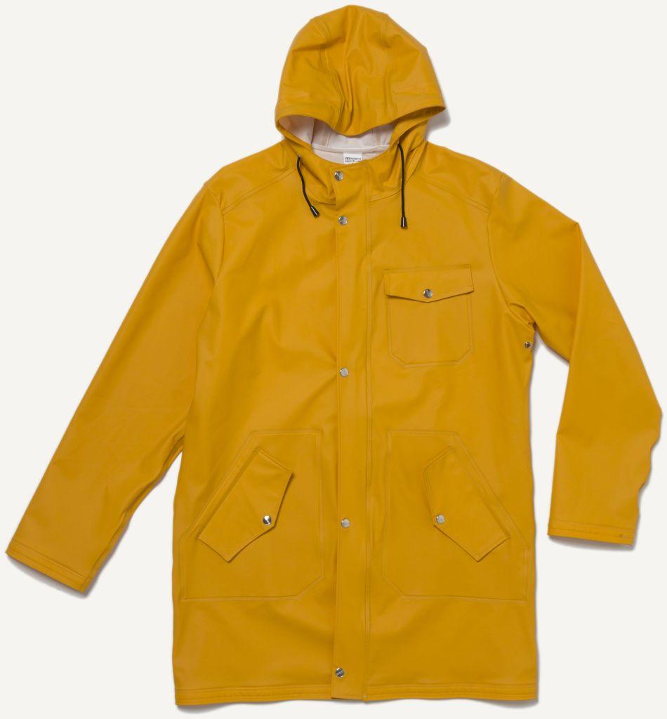 Laugavegur Rain Jacket Retro Yellow-30