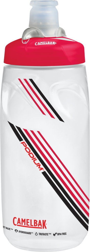Podium 21 Oz Clear Red-30