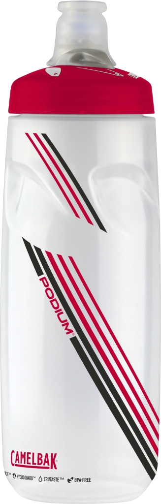 Podium 24 Oz Clear Red-30