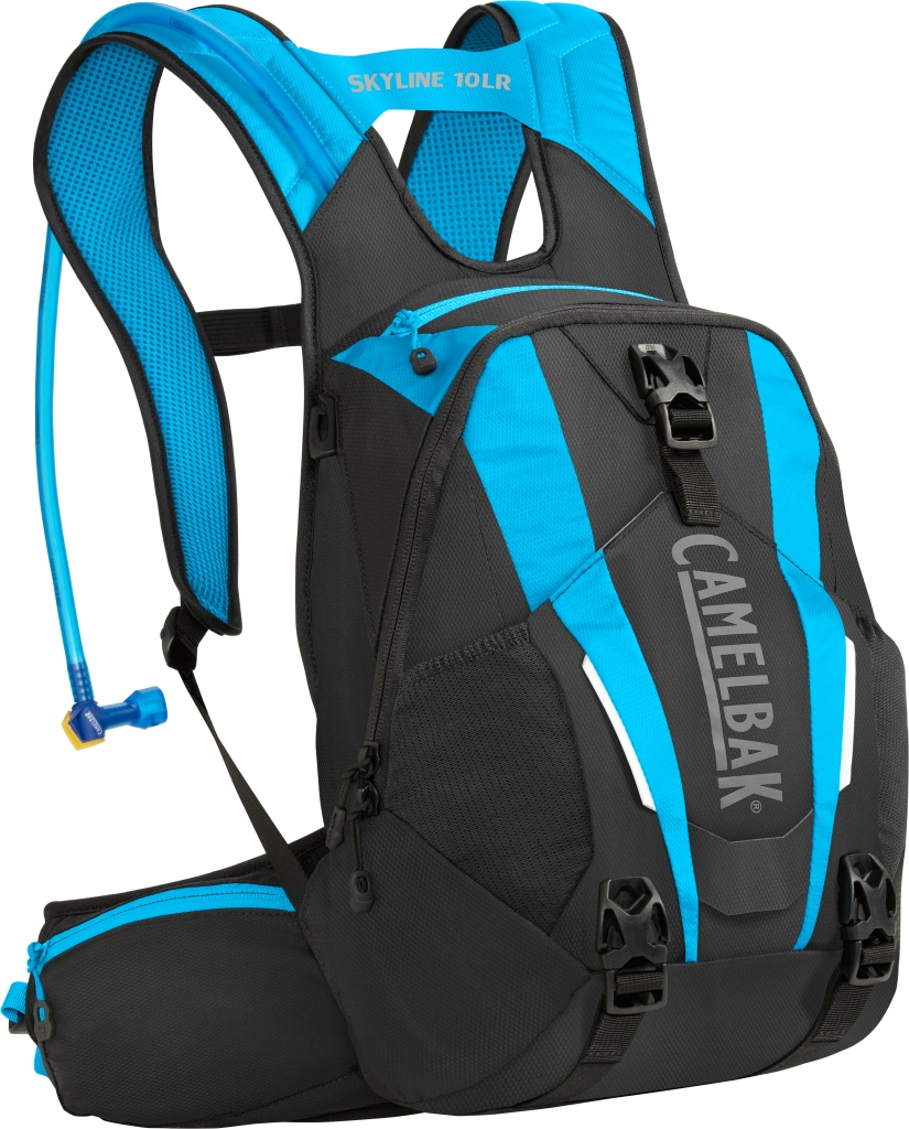 CamelBak Skyline 10 Lr 100 Oz Black/Atomic Blue Intl-30