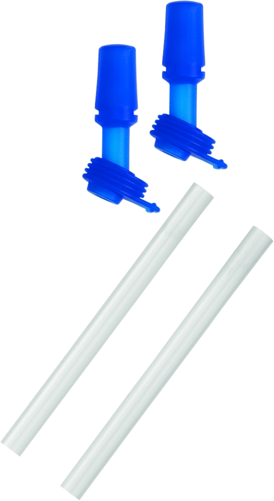 Eddy Kids Bottle Accessory 2 Bite Valves/2 Straws Blue-30