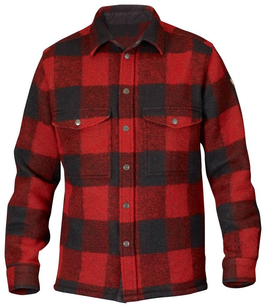 FjallRaven Canada Shirt Red-30