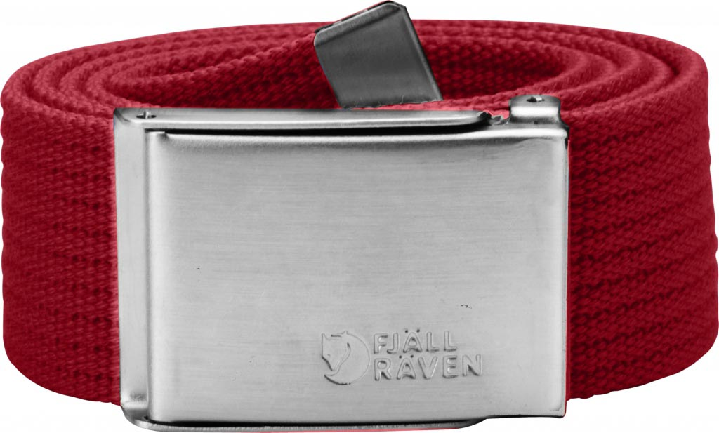 FjallRaven Canvas Belt Deep Red-30