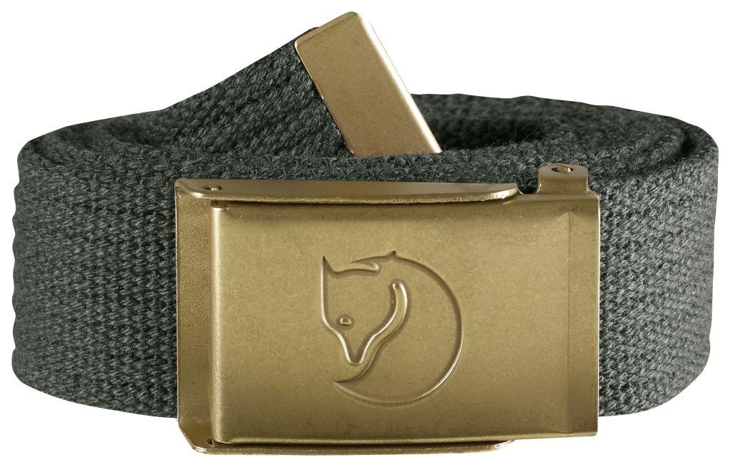FjallRaven Canvas Brass Belt 3 cm. Mountain Grey-30