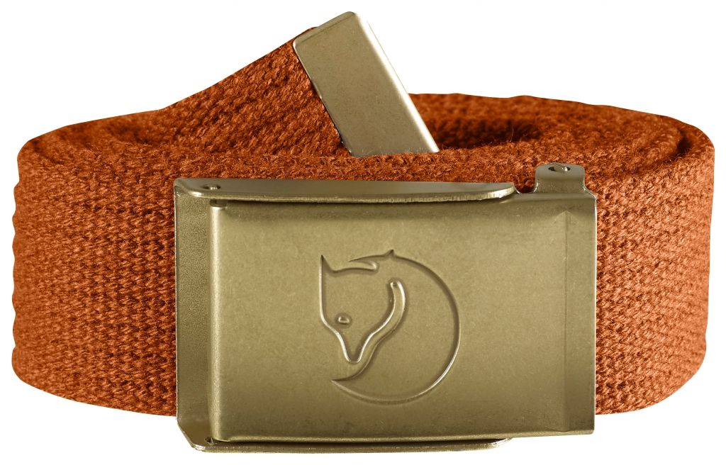 FjallRaven Canvas Brass Belt 3 cm. Autumn Leaf-30