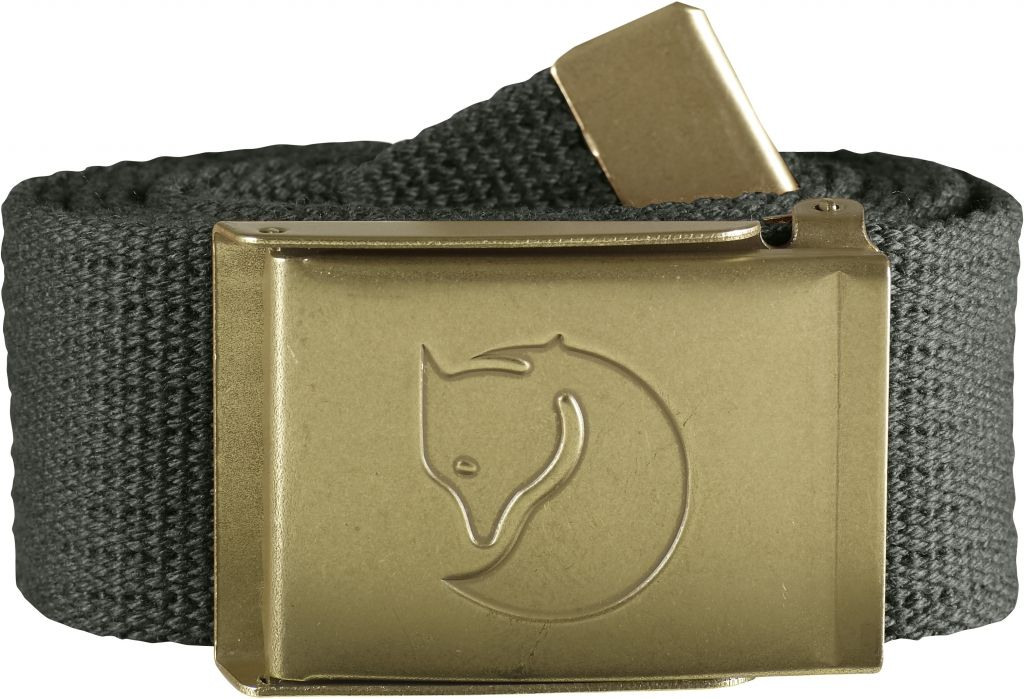 FjallRaven Canvas Brass Belt 4 cm. Mountain Grey-30